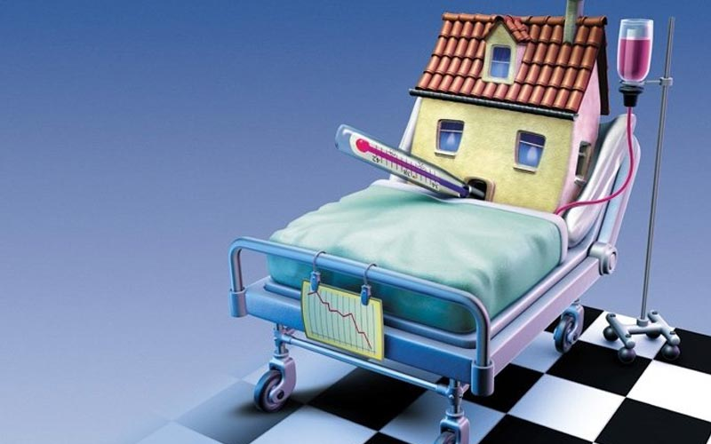 Image of a sick house