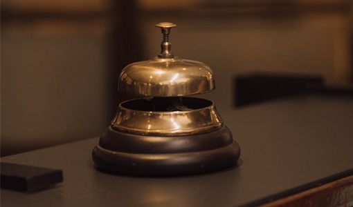 Image of a hotel bell
